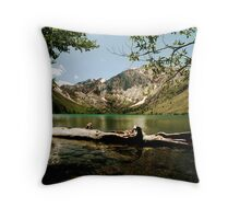 Serenity at Convict Lake Throw Pillow