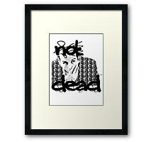 Not dead. - Sherlock BBC [Jim Moriarty] Framed Print