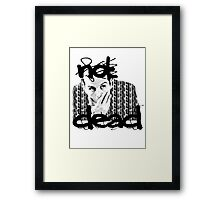 Not dead. - Sherlock BBC [Jim Moriarty] Framed Print