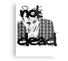 Not dead. - Sherlock BBC [Jim Moriarty] Metal Print