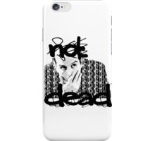 Not dead. - Sherlock BBC [Jim Moriarty] iPhone Case/Skin