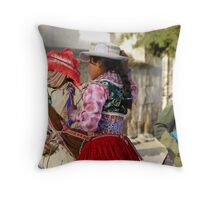 Lampshade Hats Throw Pillow