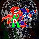 Ivy & Harley V2 - Gothamettes by Penelope Barbalios