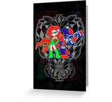 Ivy & Harley V2 - Gothamettes Greeting Card