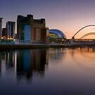 Sunset at the Quayside by Great North Views