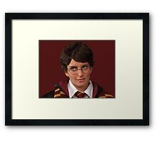 Liz Lemon/Harry Potter Framed Print