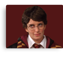 Liz Lemon/Harry Potter Canvas Print