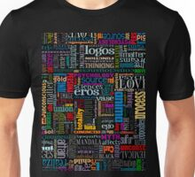 Jungian Psychology Word Cloud Unisex T-Shirt