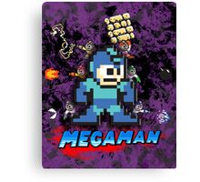 Megaman power up Canvas Print