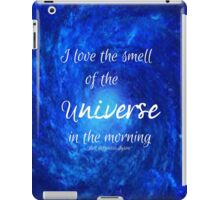 Smell of the Universe iPad Case/Skin