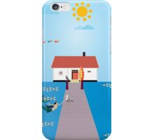 Visiting from the sea  iPhone Case/Skin