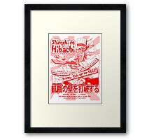 Shingeki no Hibachi (Attack on Hibachi) Framed Print