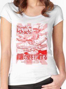 Shingeki no Hibachi (Attack on Hibachi) Women's Fitted Scoop T-Shirt
