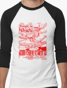 Shingeki no Hibachi (Attack on Hibachi) Men's Baseball ¾ T-Shirt