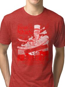 Shingeki no Hibachi (Attack on Hibachi) Tri-blend T-Shirt