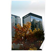 Fall Building Poster