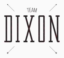 Team Dixon - Alternate Kids Clothes