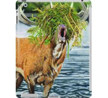 Feed me to the forest. iPad Case/Skin