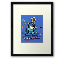 Megamans - Power ups Framed Print
