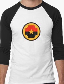 Roundel of the Nicaraguan Air Force Men's Baseball ¾ T-Shirt