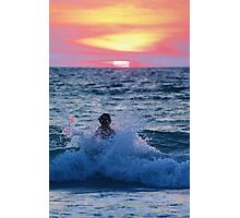 Body Surfing Photographic Print