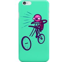 Cycling Disaster iPhone Case/Skin