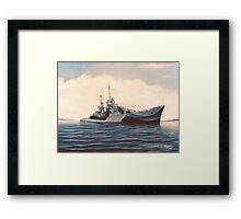 USS San Juan - Cruiser Framed Print