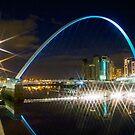 Millennium Bridge Again by Great North Views