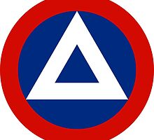 Roundel of Nicaraguan Air Force, 1950-1979 by abbeyz71
