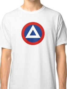 Roundel of Nicaraguan Air Force, 1950-1979 Classic T-Shirt
