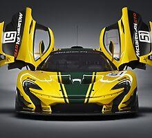 McLaren P1 GTR by djoc444