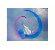 Red Arrows 2 Art Print