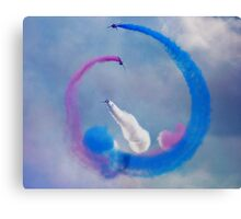 Red Arrows 2 Canvas Print