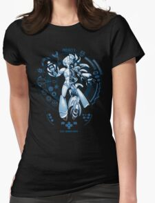 PROJECT X - Blue Print Edition Womens Fitted T-Shirt
