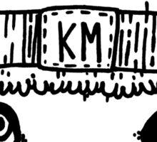 Kaizo Minds - Big Oscar (Black) Sticker