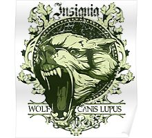 Insignia Wolf Poster