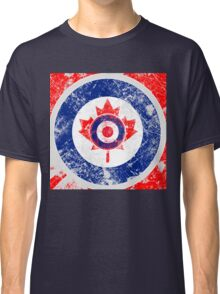 Grunge Mod Target Roundel Canada Classic T-Shirt