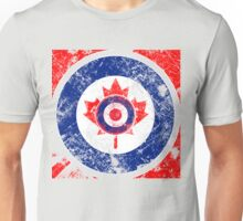 Grunge Mod Target Roundel Canada Unisex T-Shirt