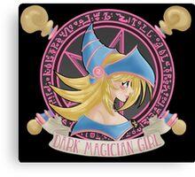 Dark Magician Girl Canvas Print