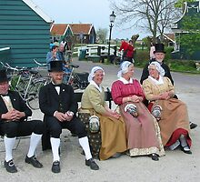 Traditional Dutch Costumes by Jo Nijenhuis