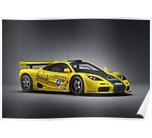 McLaren F1 GTR Poster