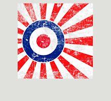 Grunge Mod Target Roundel Japan Sunburst Unisex T-Shirt