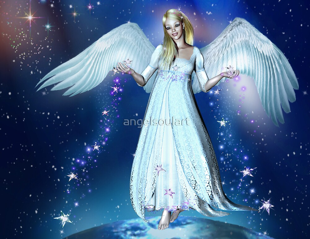 Angel of Peace by angelsoulart