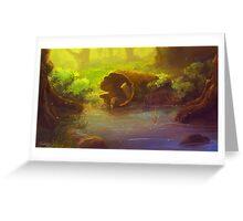 Forrest Pond Greeting Card