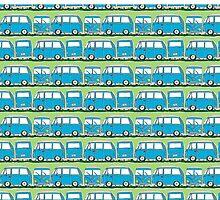 Dizzy Campervan  by Wendy Howarth