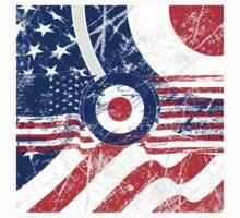 Grunge Mod Target Roundel America Kids Tee