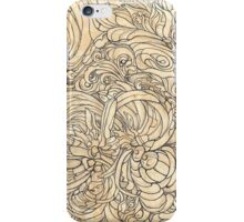 Floral abstraction iPhone Case/Skin