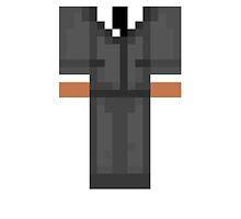 Minecraft Skin Duvet Cover by HyperDerpz
