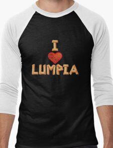 I Love Lumpia Men's Baseball ¾ T-Shirt
