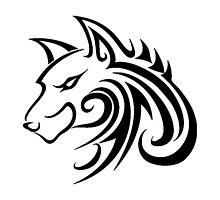 Wolf Tattoo Tribal by AmazingMart